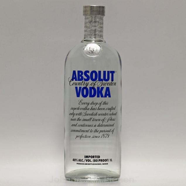 Absolut Vodka 1 L 40%vol