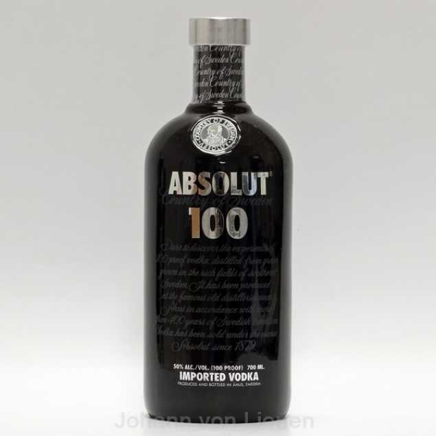 Absolut 100 Vodka 0,7 L 50%vol