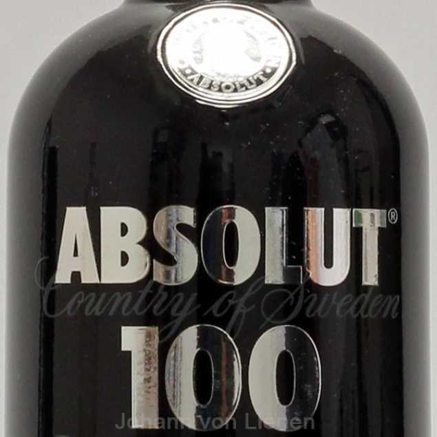 Absolut 100 Vodka 1 L 50%vol