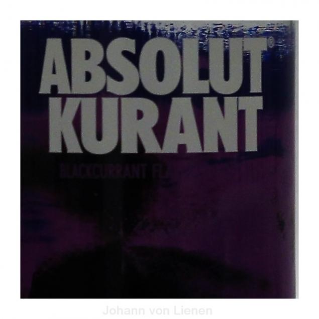 Absolut Vodka Kurant 1 L 40%vol