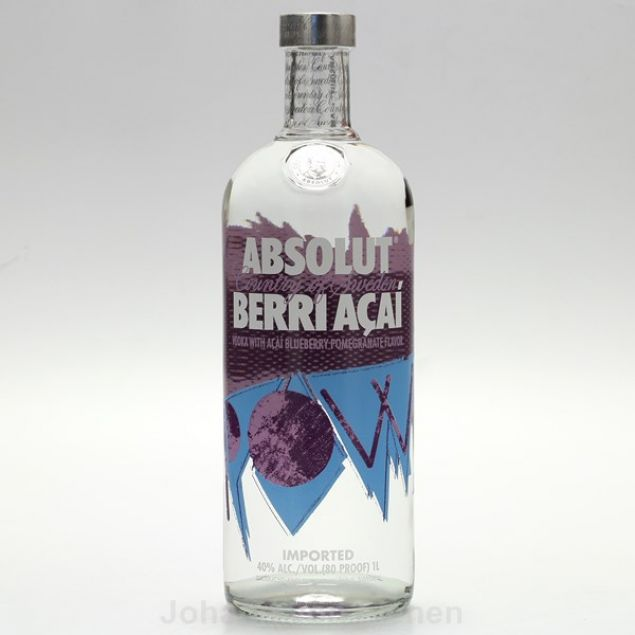 Absolut Vodka Berri Acai 1 L 40%vol