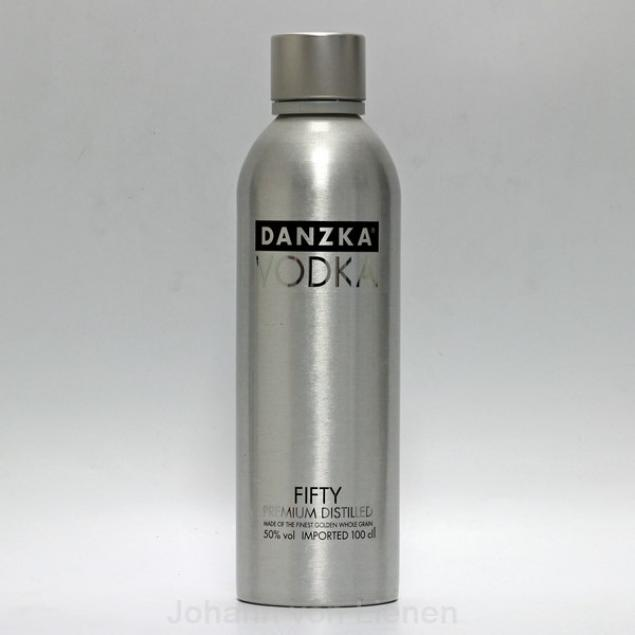 Danzka Vodka Fifty in Metallflasche 1 L 50%vol