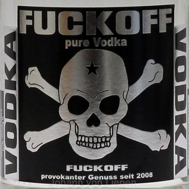 Fuckoff Pure Vodka 0,7 L 40%vol