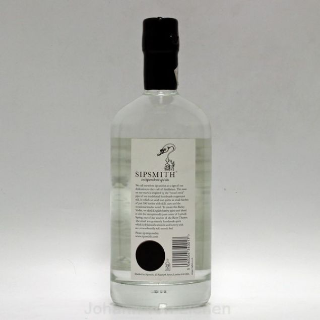 Sipsmith Barley Vodka 0,7 L 40%vol