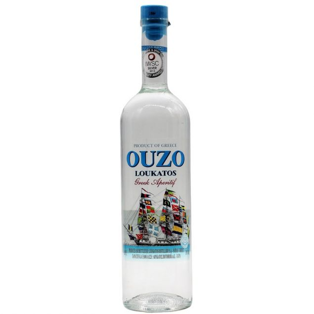 Loukatos Ouzo 0,7 L 38%vol