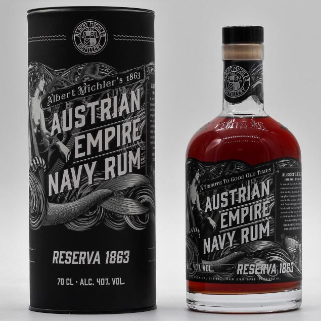 Austrian Empire Navy Rum Reserve 1863 0,7 L 40%vol