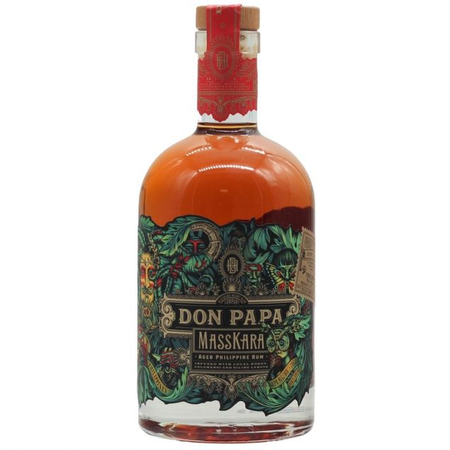 Don Papa Masskara Rum 0,7 L 40%vol