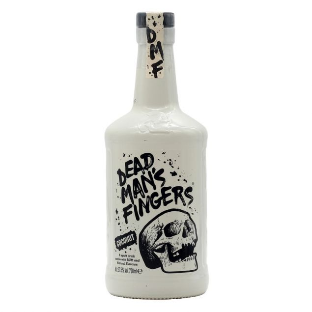 Dead Man's Fingers Coconut Spiced Rum 0,7 L 37,5% vol
