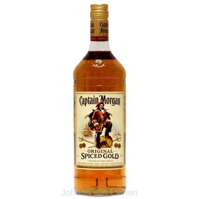 Captain Morgan Spiced Gold  1 L 35%vol