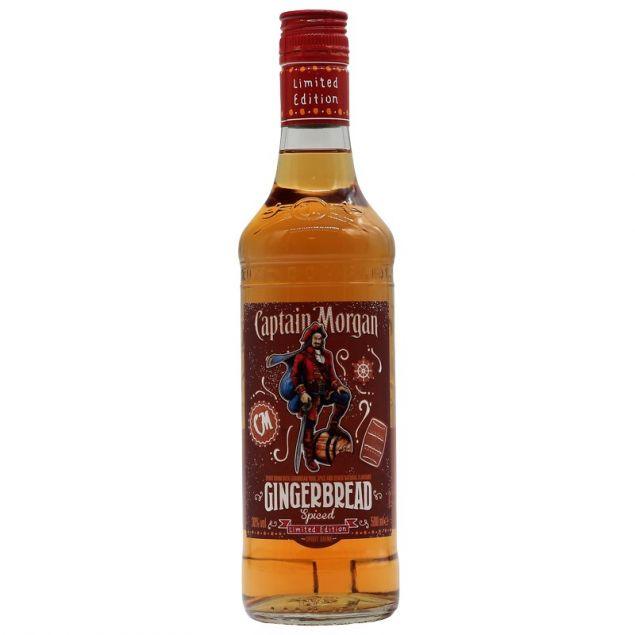 Captain Morgan Gingerbread Spiced 0,5 L 30%vol
