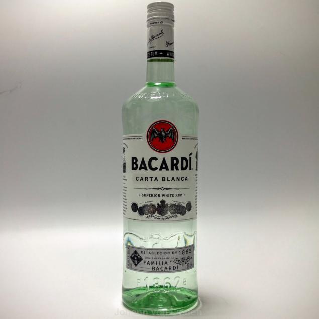 jashopping.de Bacardi Carta Blanca Rum 1 Ltr. 37,5%vol
