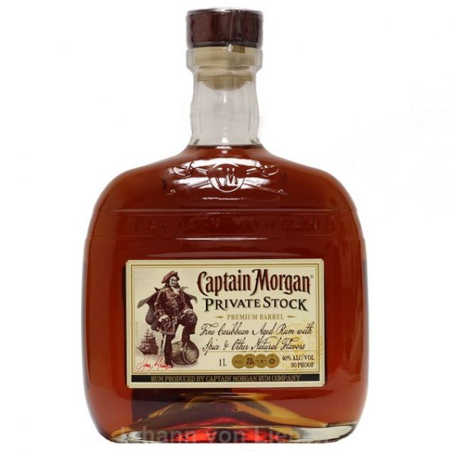 Captain Morgan Private Stock 1 Ltr 40%vol