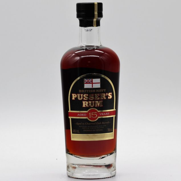 Pussers British Navy Rum 15 Jahre 0,7 L 40% vol.