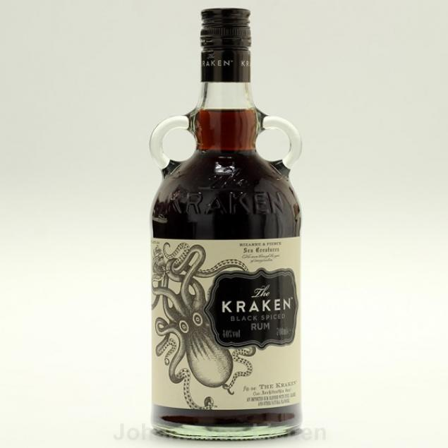 Kraken Black Spiced Rum USA 0,7 Ltr 40%vol