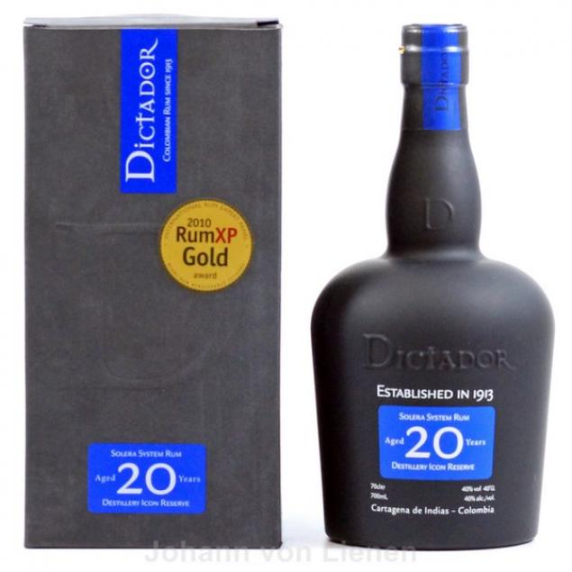 Dictador 20 Years Solera 0,7Ltr. 40%vol