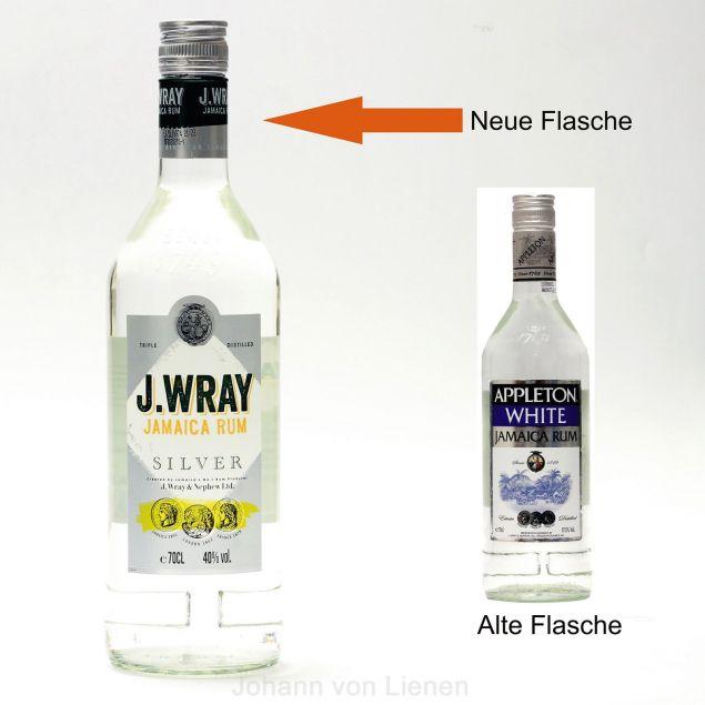 jashopping.de J. Wray Jamaica Rum Silver ehemals Appleton 0,7 L 40%vol