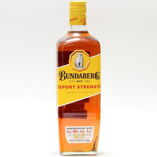 Bundaberg Export Strength Rum 1 L 40%vol