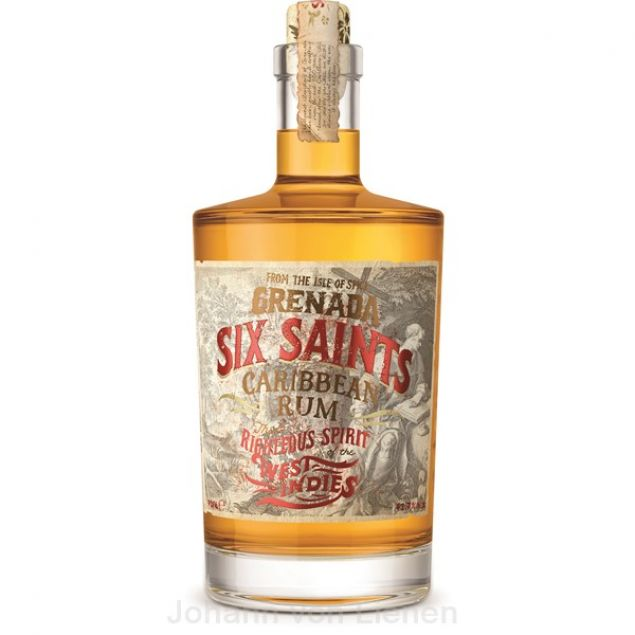 Six Saints Caribbean Rum Grenada 0,7 L 41,7%vol