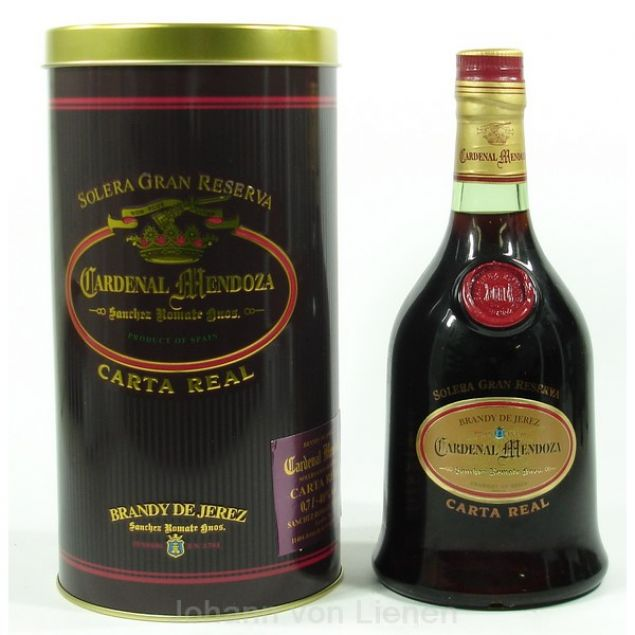 Cardenal Mendoza Carta Real 0,7 L 40%vol
