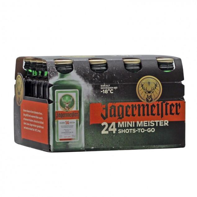 Spirituosen 24 Minis Jägermeister 0,02 L 35% vol