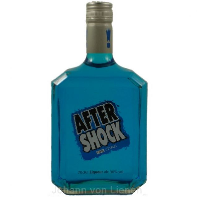 After Shock Blue Cool Citrus Liqueur 0,7 L 30%vol