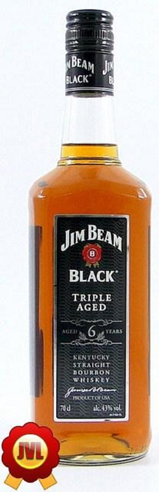 Jim Beam Black Label 6 Years 0,7 Ltr  43%