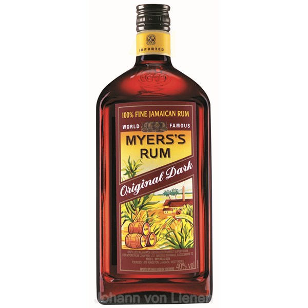Myers's Original Dark Jamaica Rum 1 L 40%vol