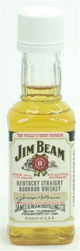 Jim Beam White Label Miniatur 0,05 Ltr  40%