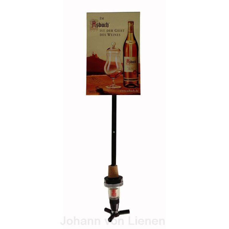 asbach uralt 3 liter wandhalterung mit 2cl portionierer. Black Bedroom Furniture Sets. Home Design Ideas