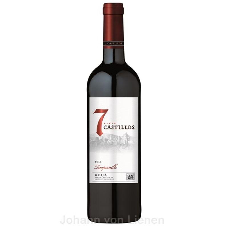 jashopping.de 7 Castillos Rioja 0,75 L 13,5%vol