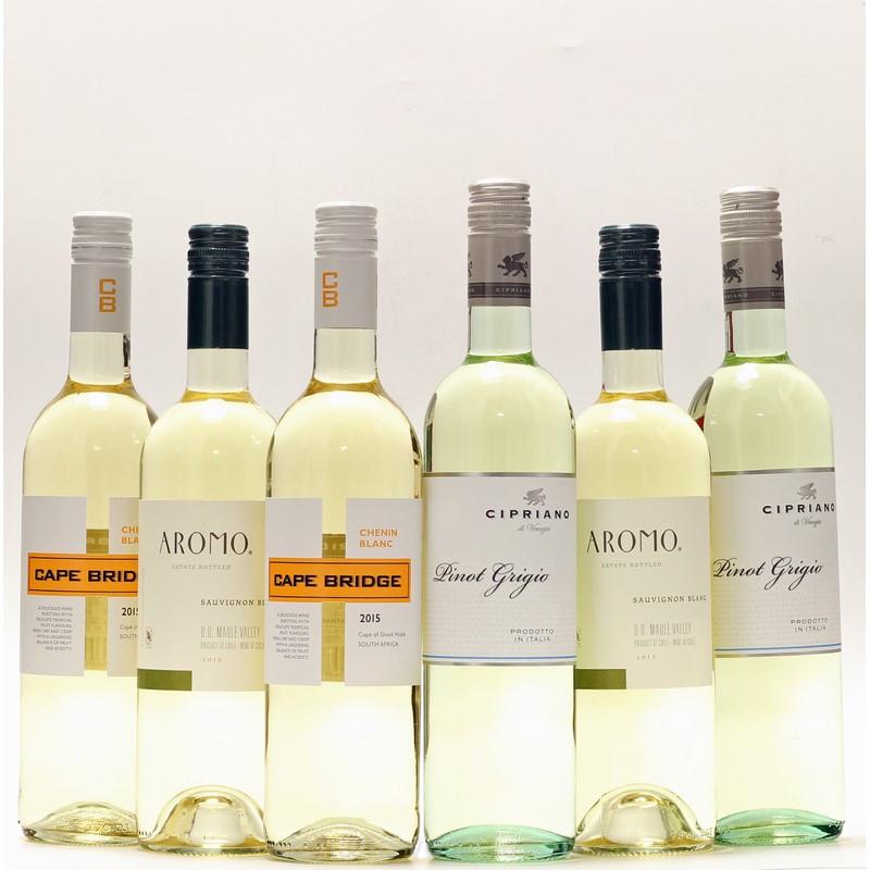 jashopping.de Weinpaket Weißwein 6 x 0,75 L
