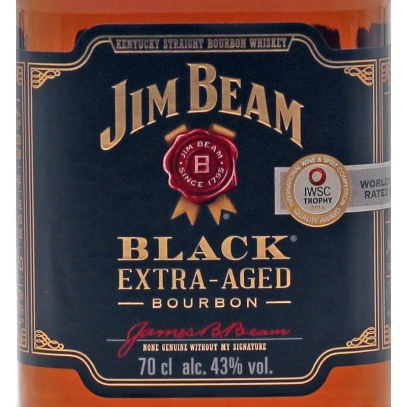 Jim Beam Black Extra Aged 0,7 L  43%vol