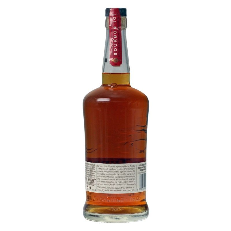 Wild Turkey 101 Proof 0,7 L   50,5%vol