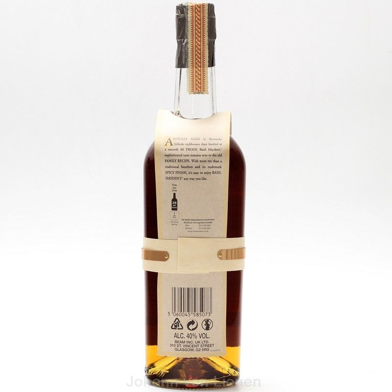 Basil Haydens Kentucky Straight Bourbon Whiskey 0,7 L 40%vol