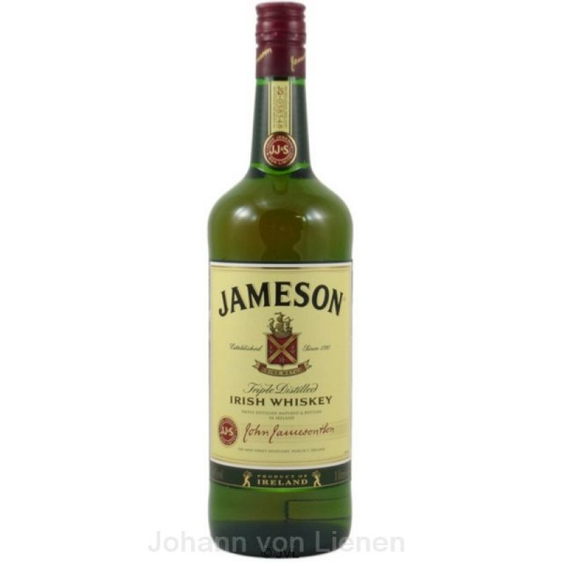 John Jameson Triple Distilled Irish Whiskey 1 L 40%vol