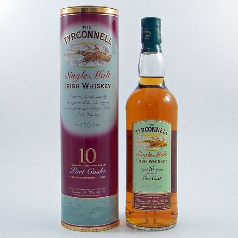 Tyrconnell 10 Years Port Cask 0,7 L 46%vol