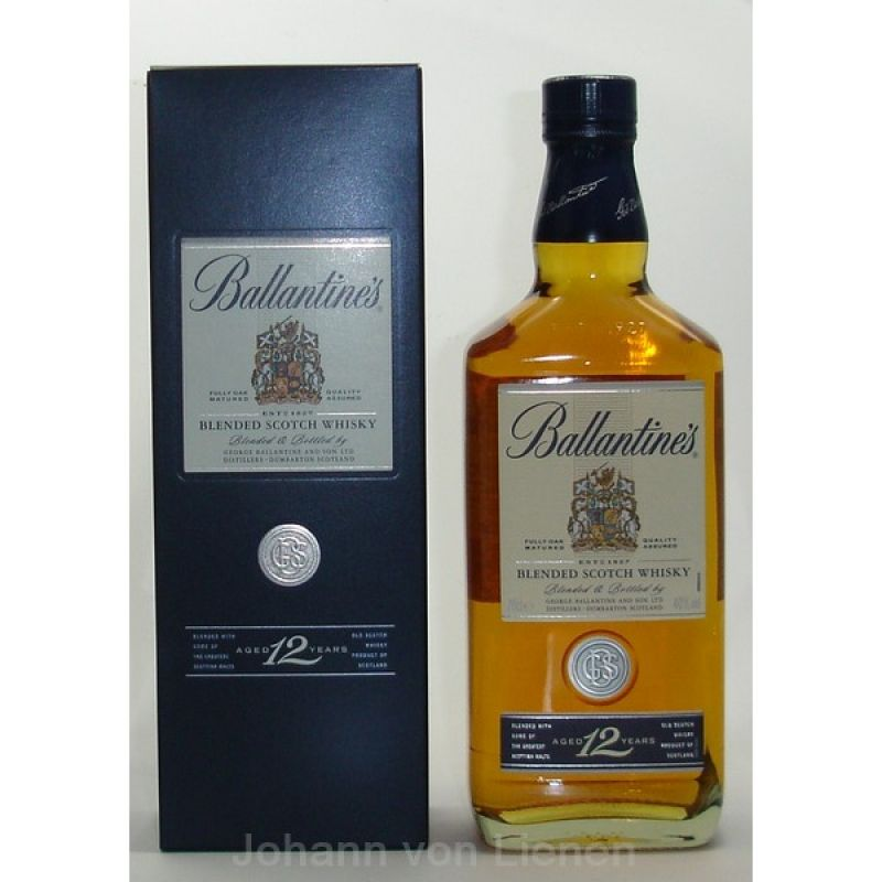 Ballantines 12 Years 0,7 L 40%vol