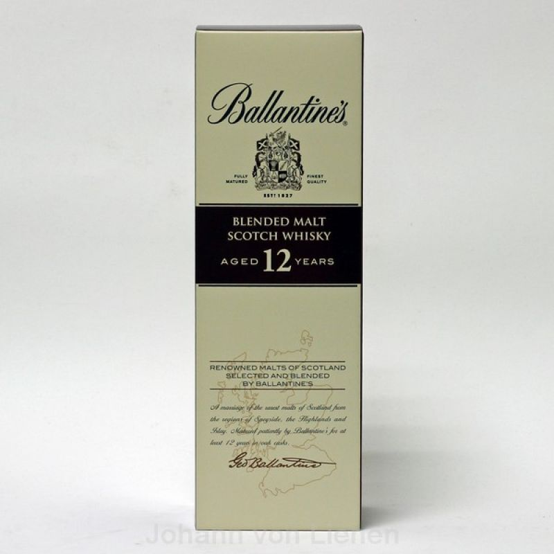 Ballantines 12 Years Blended Malt 0,7 L 40%vol