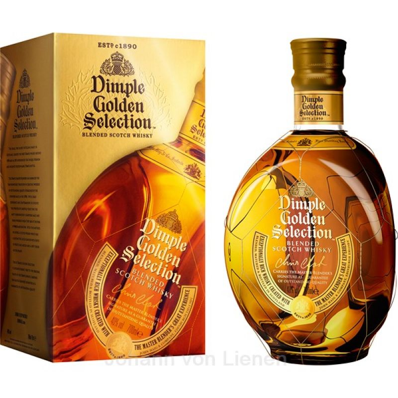 Dimple Golden Selection 0,7 L 40%vol