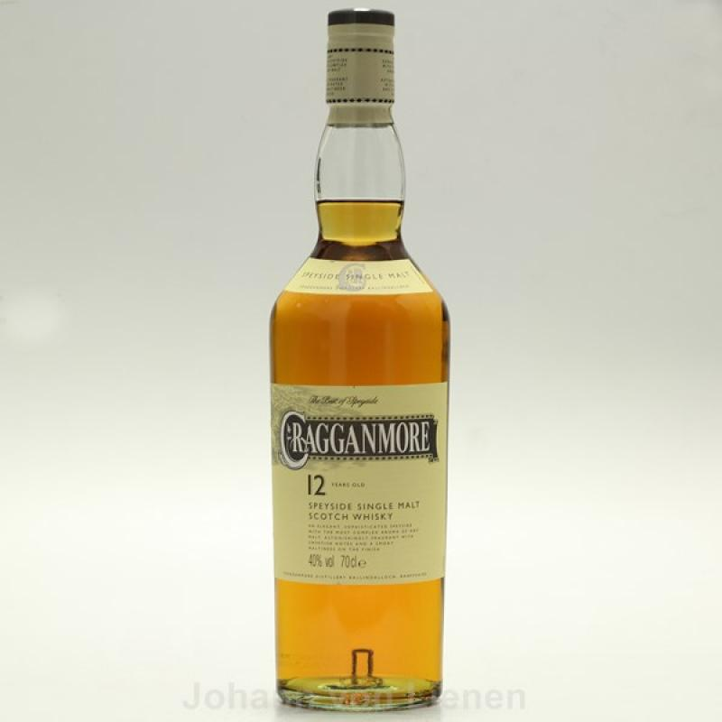 Cragganmore 12 Jahre Years 0,7 Ltr. 40%vol