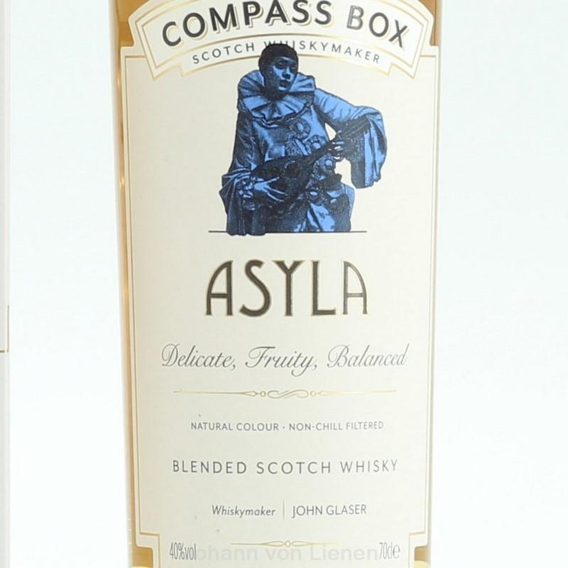 Compass Box Asyla 0,7 L 40%vol