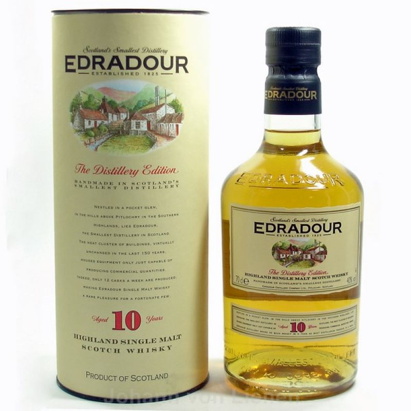 Edradour 10 Years 0,7 L 40%vol