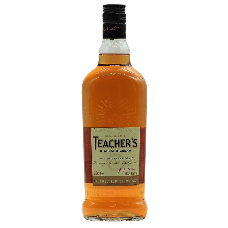 Teacher's Highland Cream Blended Scotch Whisky 0,7 L 40% vol