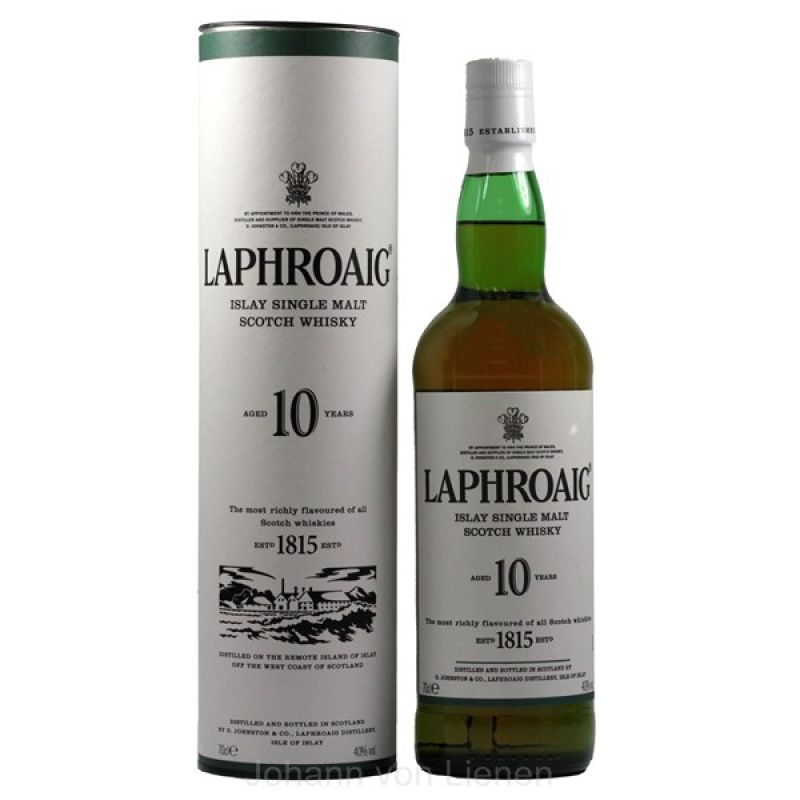 Laphroaig 10 Years Old 0,7 Ltr. 40%