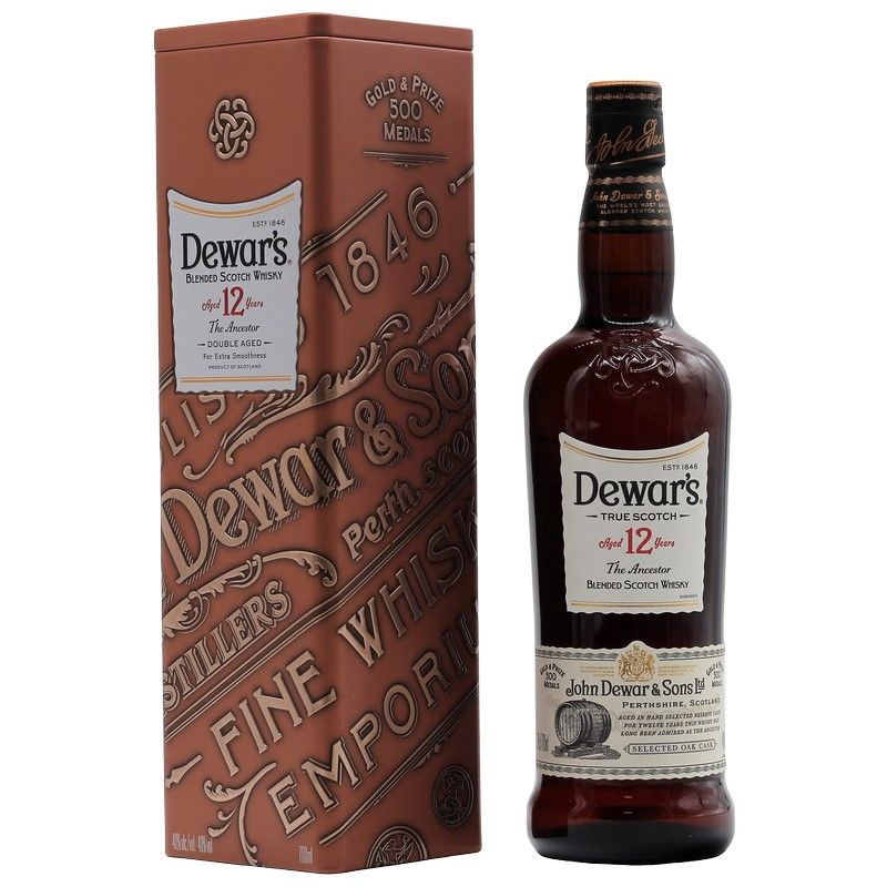 Dewars 12 Years Double Aged 0,7 L 40%vol