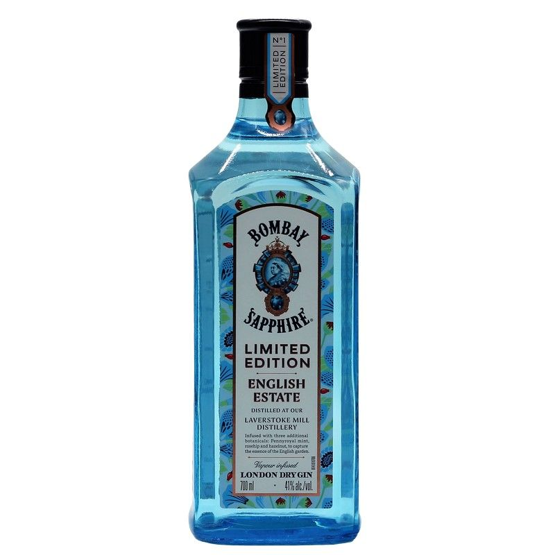 Bombay Sapphire Gin English Estate 0,7 L 41% vol.