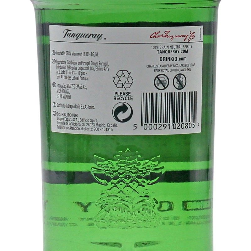 Tanqueray London Dry Gin 1 L 47,3% vol