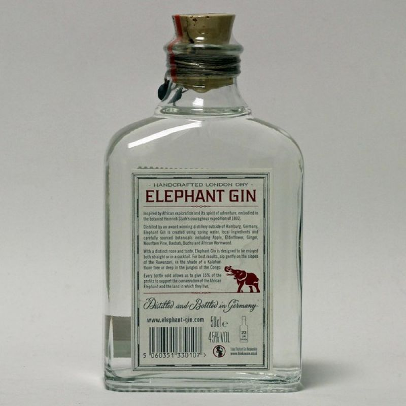 Elephant London Dry Gin 0,5 L 45%vol