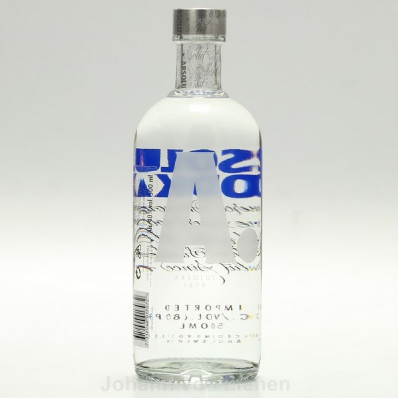 Absolut Vodka 0,5 L 40%vol
