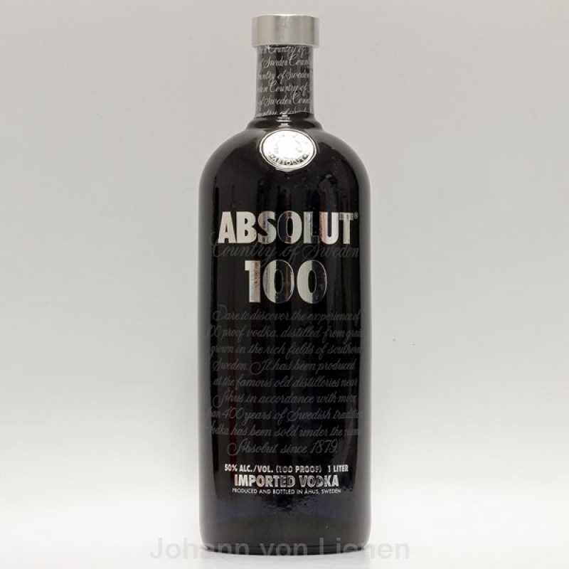 absolut 100 vodka 1 ltr 50. Black Bedroom Furniture Sets. Home Design Ideas